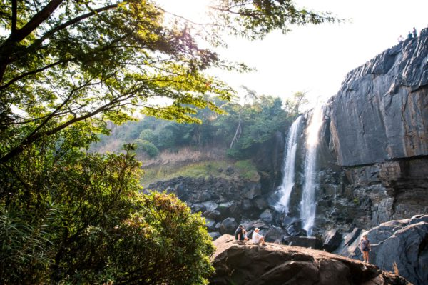 You'll stop and explore Chishimba Falls during this trip. © Rovos Rail