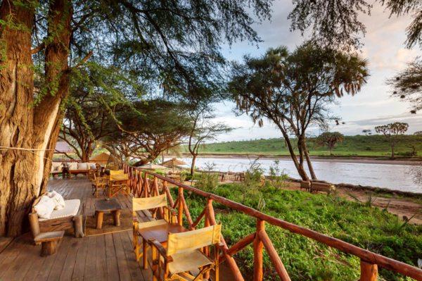 Elephant Bedroom Camp overlooks the Ngiro River. © Atua Enkop Africa
