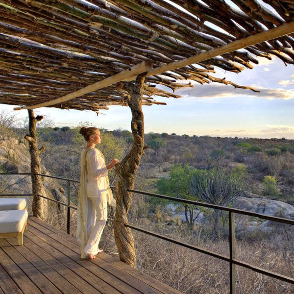Relish a highly exclusive escape at Mwiba Lodge, a luxury Tanzanian safari lodge on a private concession. © Legendary Expeditions