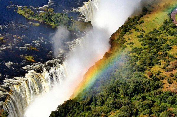 Victoria Falls is especially impressive when seen from above.