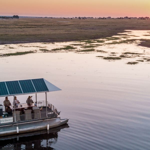 Offering both land and water activities, a stay at Chobe Game Lodge is a unique wilderness experience. © Desert & Delta Safaris