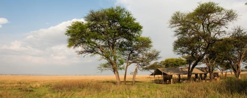 Serengeti Safari Camp moves around the Serengeti. © Nomad Tanzania