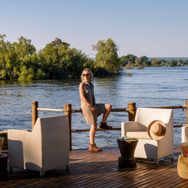 Sanctuary Sussi & Chuma is set on the Zambezi River. © Sanctuary Retreats