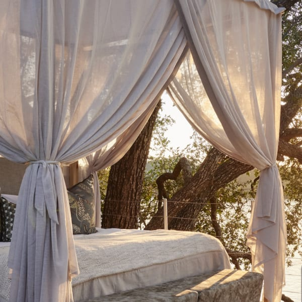 Victoria Falls River Lodge Island Treehouse
